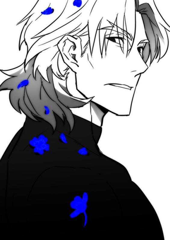 青いクローバー