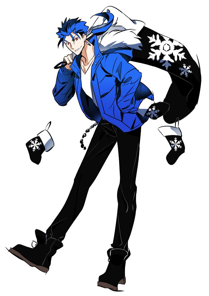 黒青クリスマスランサー