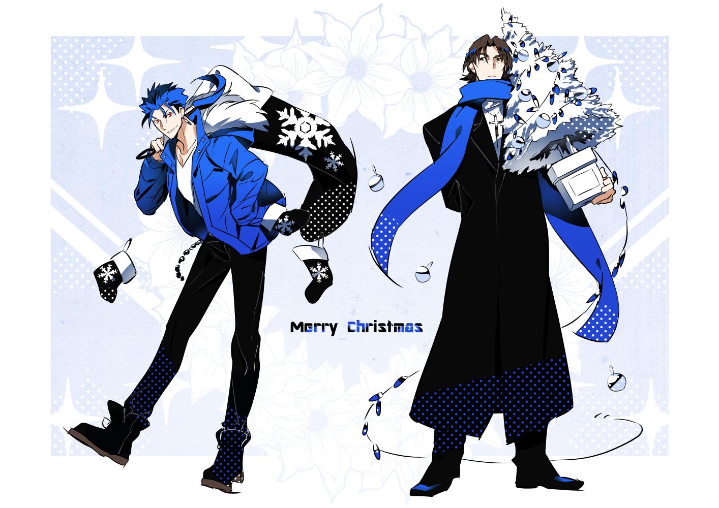 黒青クリスマス